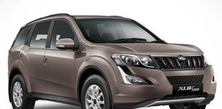 2017-mahindra-xuv500-android-auto-connected-apps-brown-colour