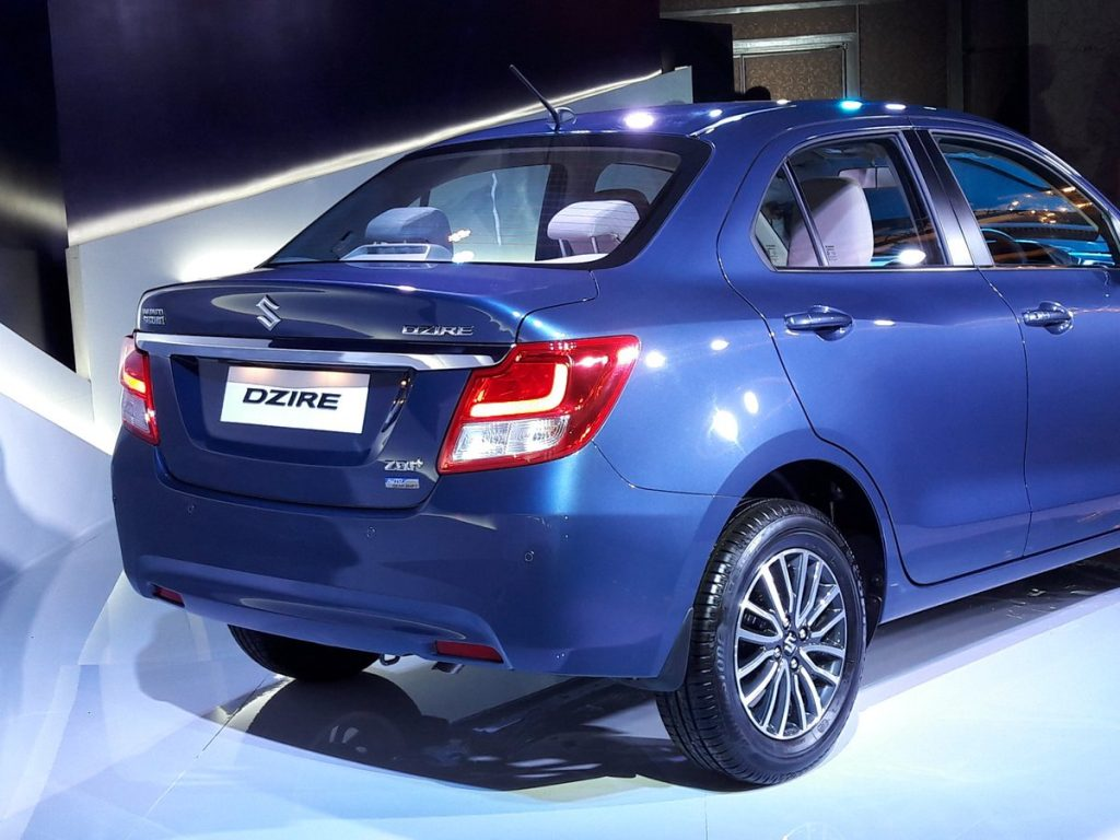 2017 maruti dzire officially unveiled in india launch on. Black Bedroom Furniture Sets. Home Design Ideas