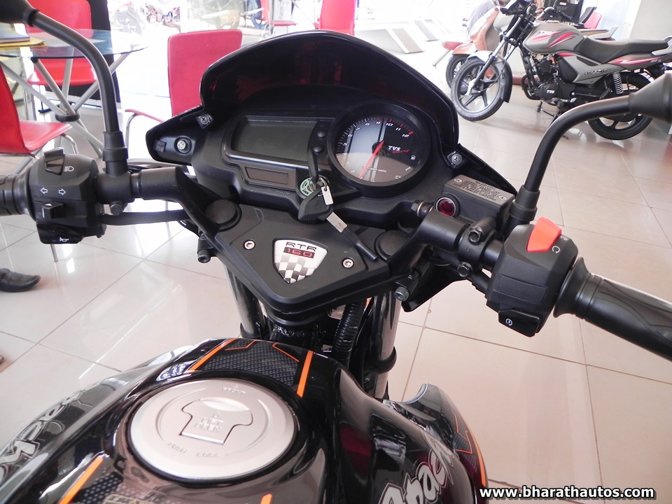 TVS Apache RTR 180 & RTR 160 updated for 2017 BS4 norms in India