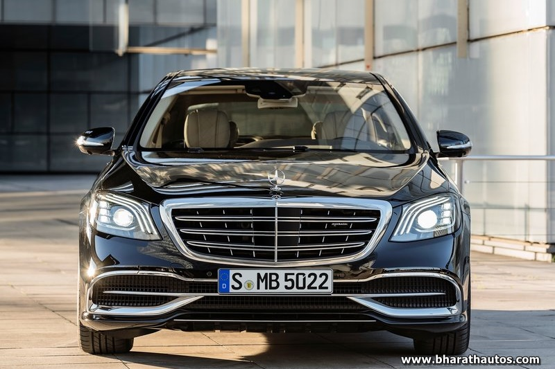2018 Mercedes Benz S Cl Maybach Facelift Front Shape India Pictures Photos Images Snaps Gallery Video