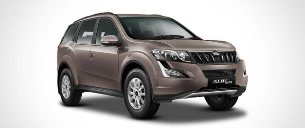 all new 2017 mahindra xuv500 lake side brown shade paint colour scheme 627x264