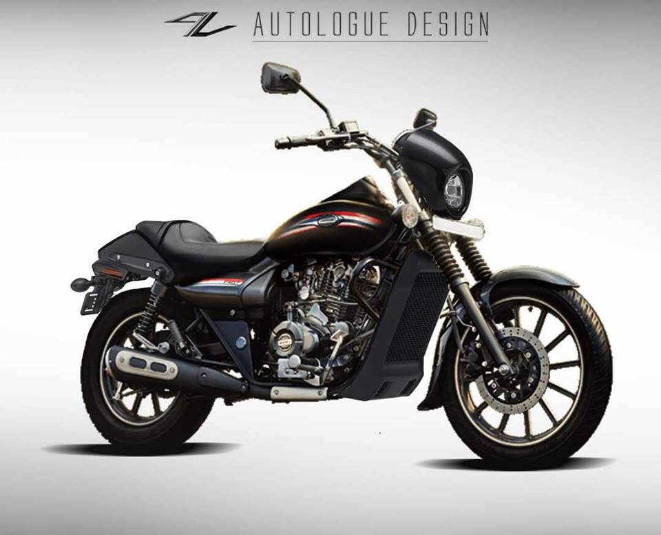 Bajaj Avenger Bruise Custom Body Kit Autologue Design
