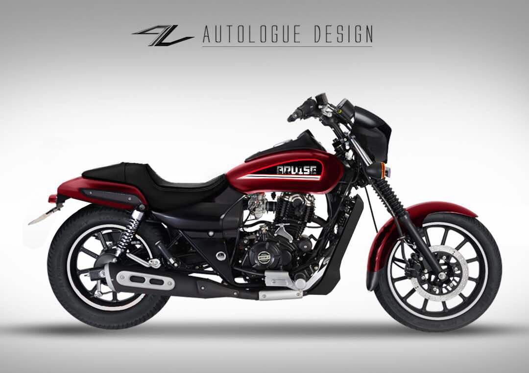 Bajaj Avenger Given The Harley Davidson Street 750 Treatment