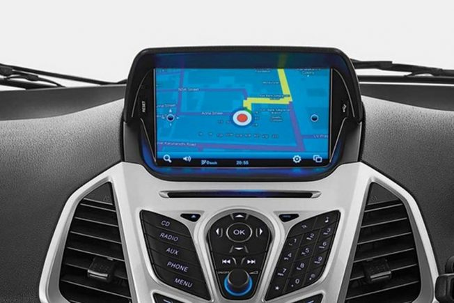 Ford Ecosport Titanium Range Now Gets 8 0 Inch Touchscreen Head Unit