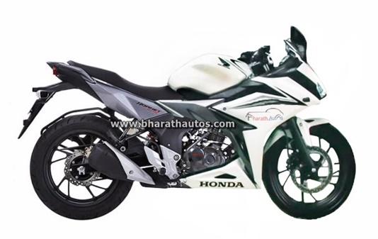Rendered Honda Cb Hornet 160r Derived Full Fairing Motorcycle On