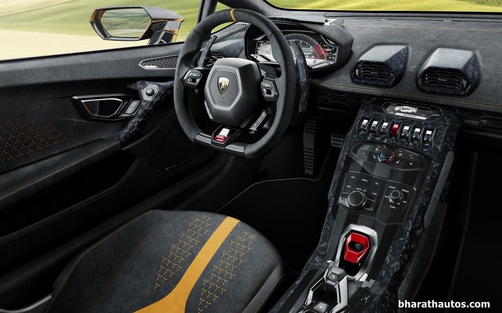 Lamborghini Huracan Performante Interior Inside India Pictures