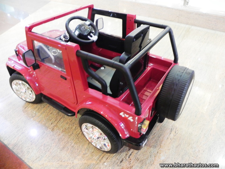 Mahindra Thar Ride On Battery Operated Kiddie Toy With Remote