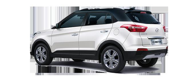 Creta 2017 White >> New 2017 Hyundai Creta Dual Tone Exteriors Polar White Body Colour