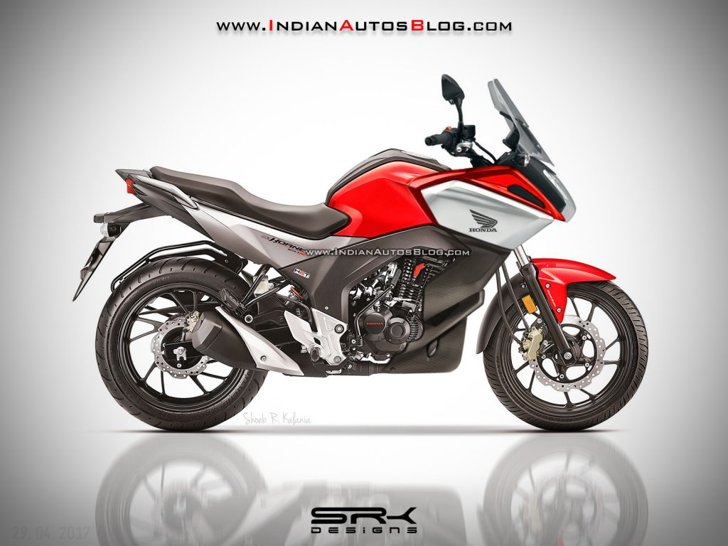 According To Traditional Honda Nomenclature The CB Hornet 160F Will Be A Name Used For Full Faired Or Semi 160R