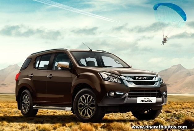 Isuzu Mu X Launched In India From Rs 23 99 Lakh 3 0l 4