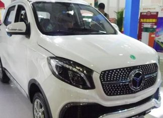 luxing-istar-lsev-mahindra-kuv100-mercedes-benz-gle-modified-china