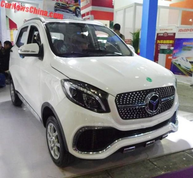 luxing-istar-lsev-mahindra-kuv100-mercedes-benz-gle-modified-front-fascia