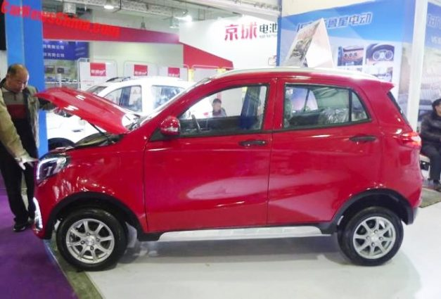 luxing-istar-lsev-mahindra-kuv100-mercedes-benz-gle-modified-side