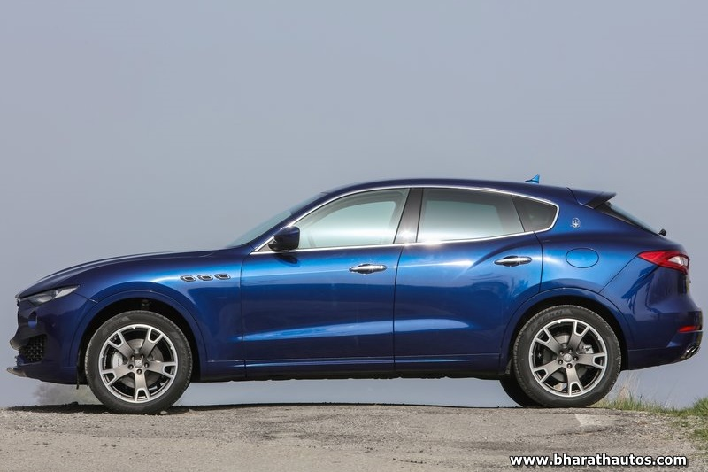 First unit of Maserati Levante SUV arrives in India at Bangalore