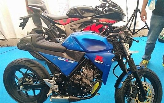 suzuki-gsx-r150-modified-cafe-racer-indonesia-motor-show