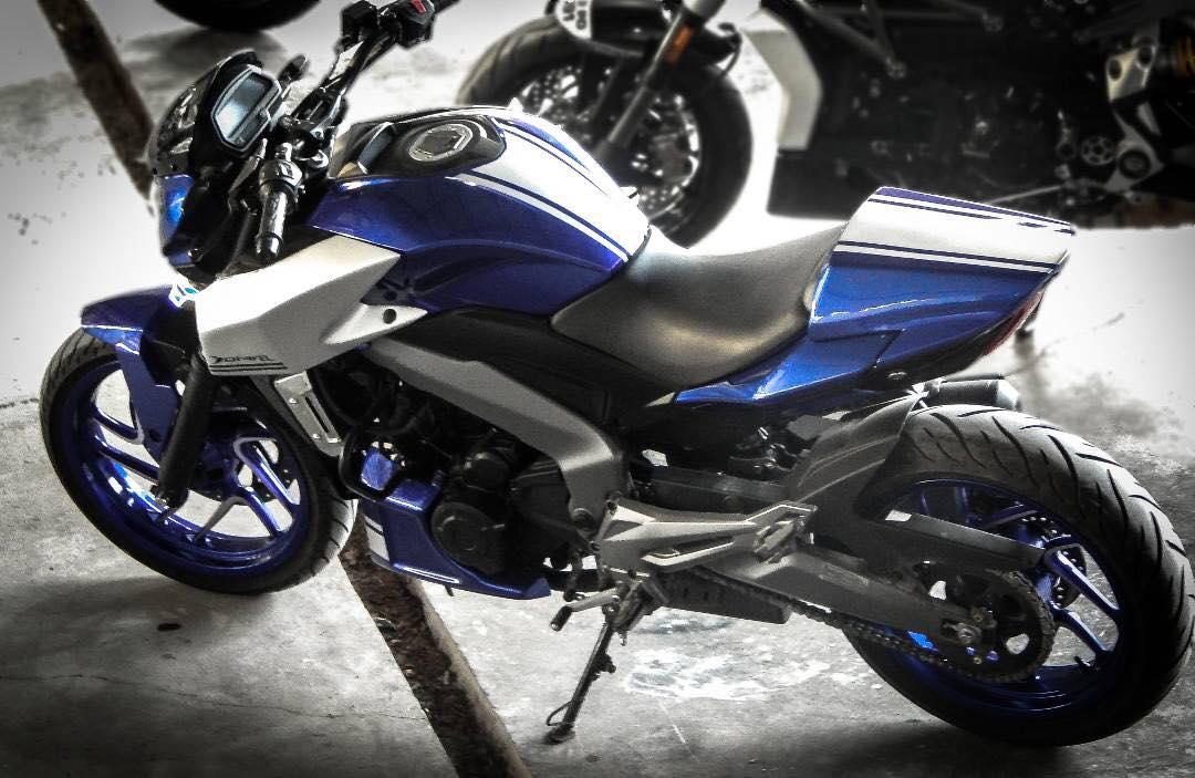 This Bajaj Dominar looks like a Ducati Diavel, will be ...