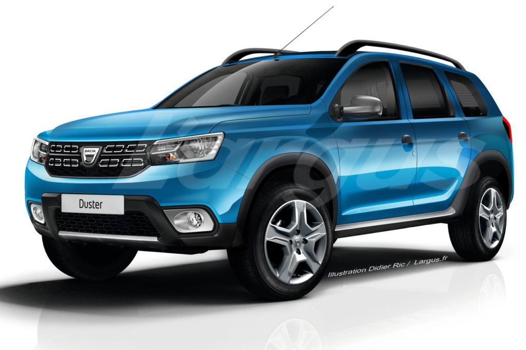 next gen 2018 renault duster dacia duster switch faces via renderings 3 different pictures. Black Bedroom Furniture Sets. Home Design Ideas