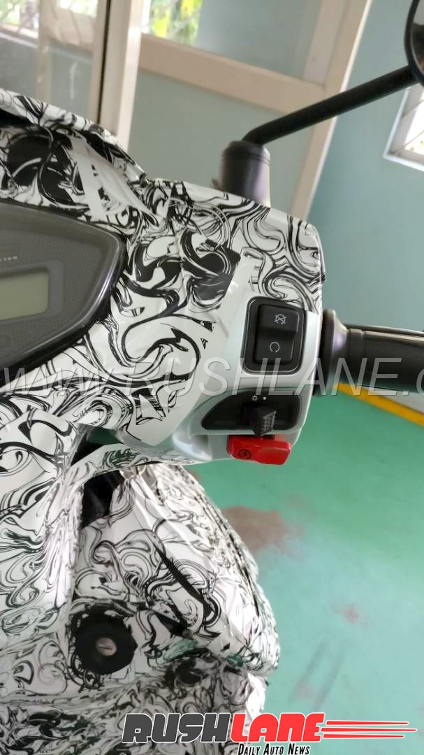 Spied Tvs Jupiter 125 With Heavy Camouflage Fi Disc