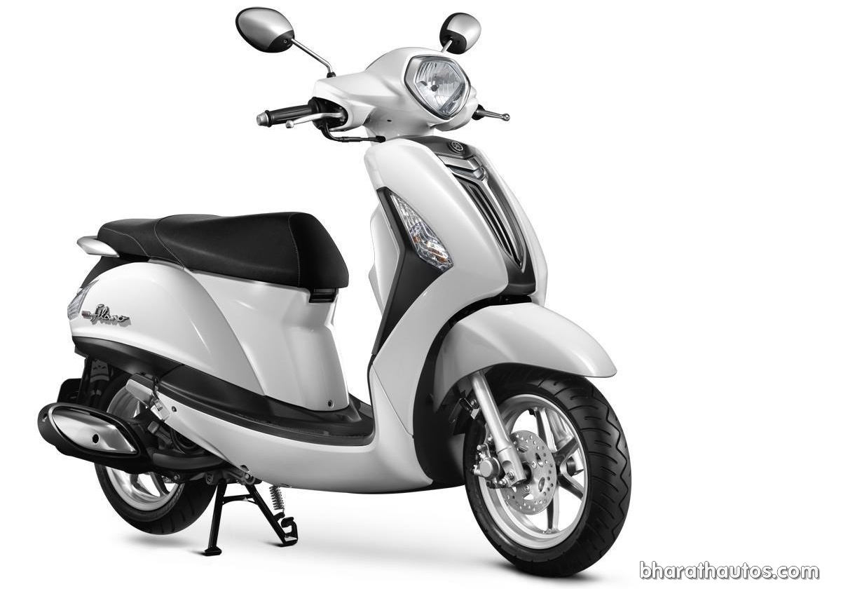 yamaha grand filano 125cc trendy lifestyle scooter spotted testing in india. Black Bedroom Furniture Sets. Home Design Ideas