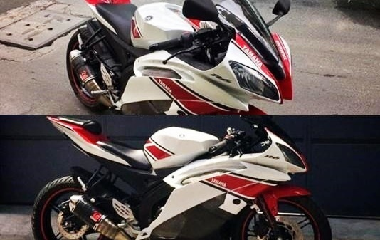 Yamaha YZF-R15 transformed into a R6 clone - Looks sharp as