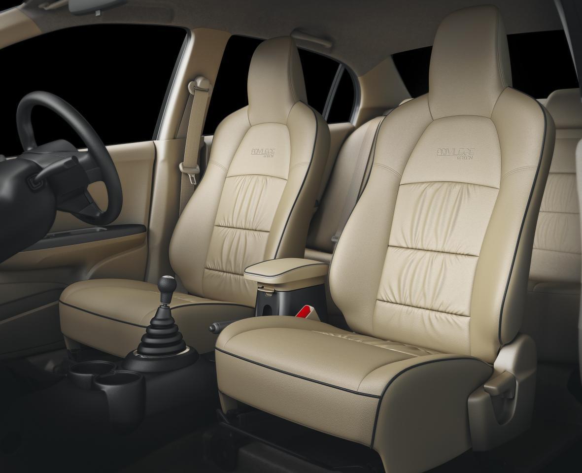 2017 Honda Amaze Privilege Edition India Premium Biege Seat Cover
