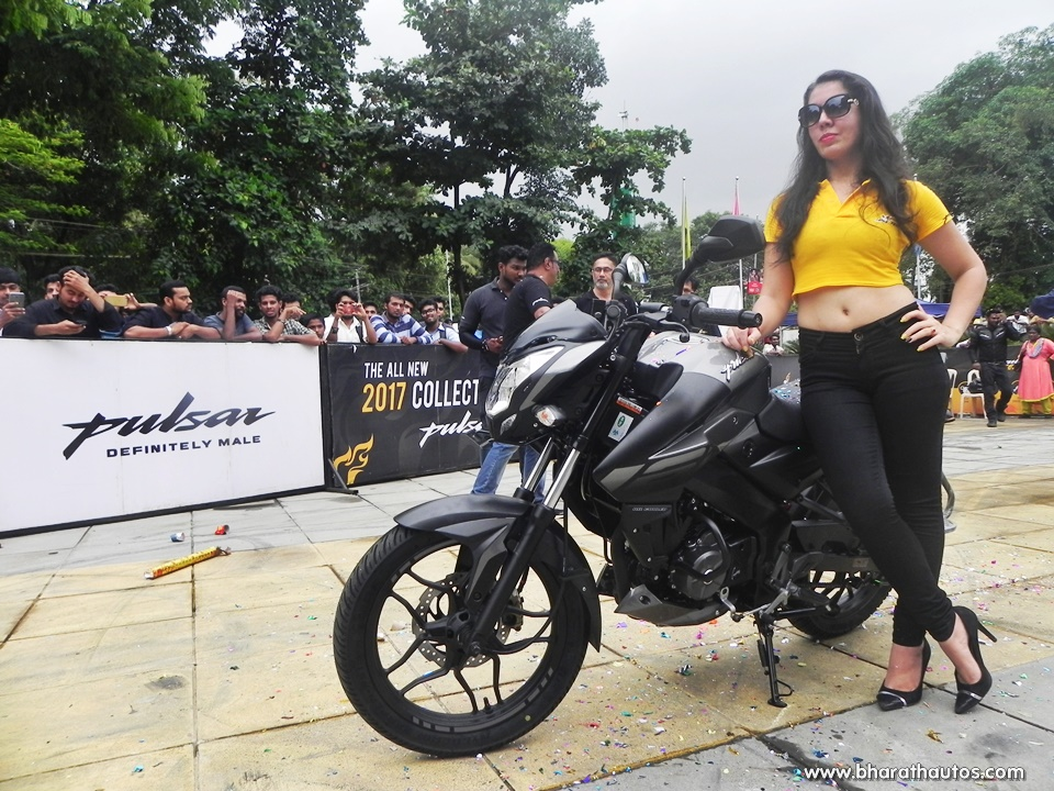 Bajaj Pulsar NS160 officially unveiled by Ghost Ryderz, followed by
