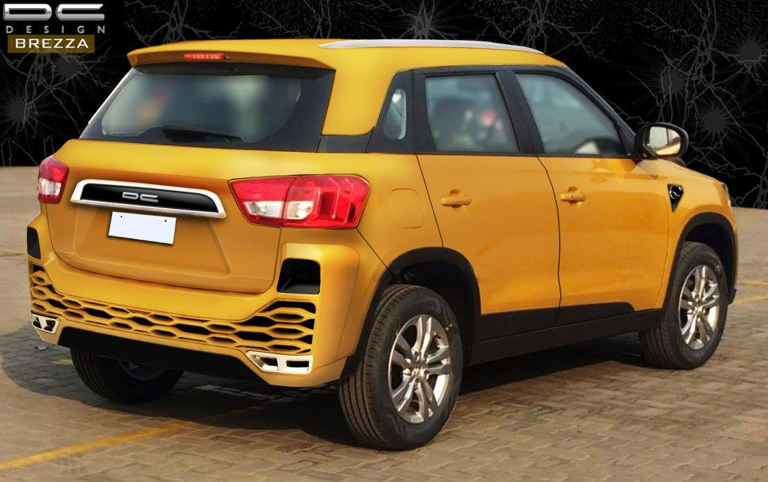 This Dc Designed Vitara Brezza Is A Marvelous One To Look At