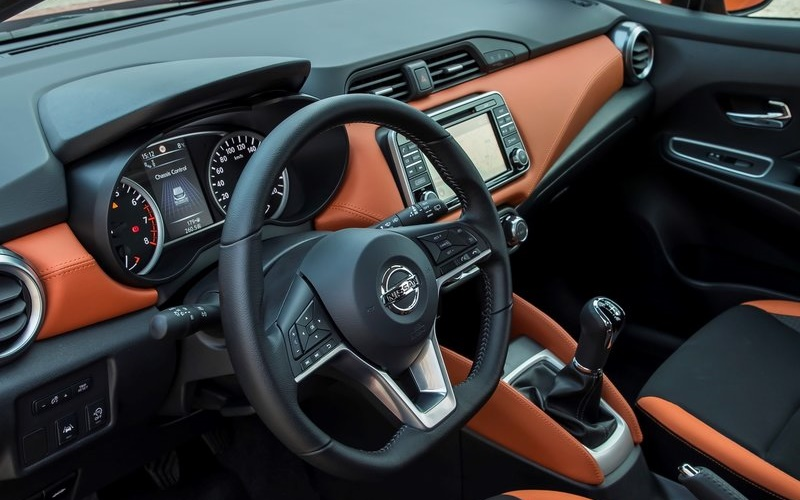 Next Generation 2018 Nissan Sunny India Cabin Inside Pictures Photos