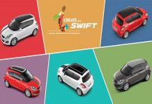 maruti-swift-icreate-customization-personalisation-program
