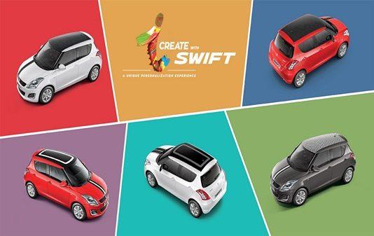 maruti-swift-icreate-customization-personalisation-program