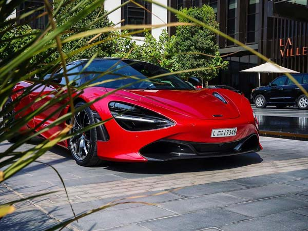 The Day He Took The Delivery Of His New Mclaren 720S In Dubai On August 07  And Uploaded On Instagram, His Fans Were Left Confused For The Car Being ...