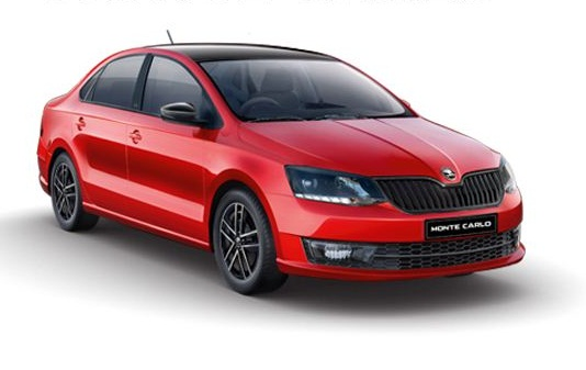 Skoda Rapid Monte Carlo now on-sale in India for Rs. 10.75 lakh