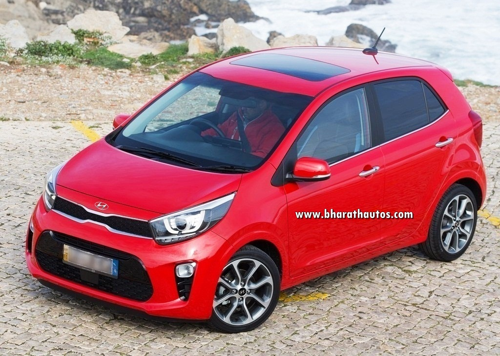 hyundai santro 2018 model. exellent santro picture of 2018 kia picanto with hyundaibadging is just used for  representational only the actual model may differ from one shown here on hyundai santro