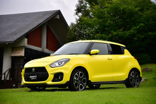 2018 suzuki swift sport spotted alongside 2017 swift launch scheduled for next year. Black Bedroom Furniture Sets. Home Design Ideas