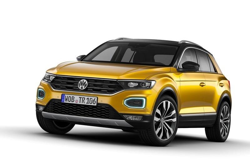 volkswagen t roc suv launch next year rivals creta q501. Black Bedroom Furniture Sets. Home Design Ideas