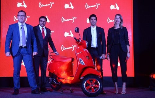piaggio-vespa-red-launched-india-farhan-akhtar