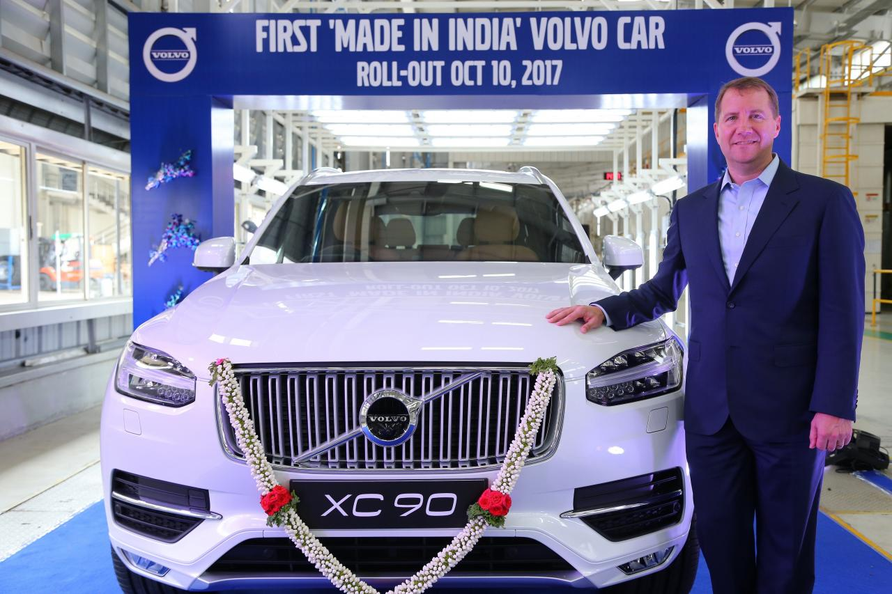 Volvo XC90 now locally-assembled in India from its plant ...
