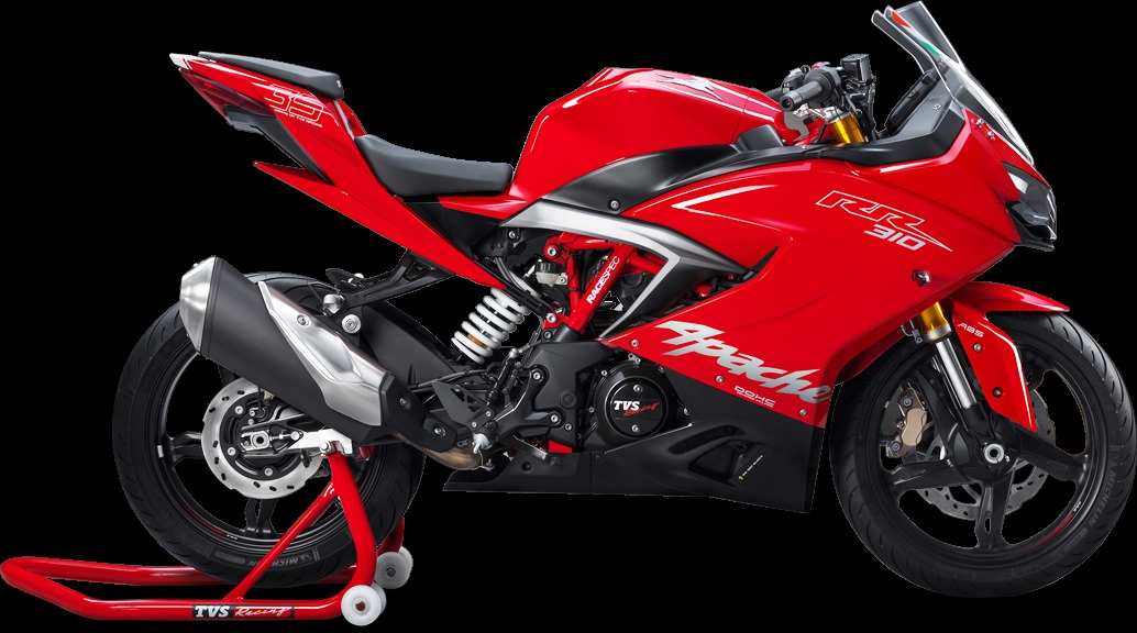 TVS Apache RR 310 launched in India, priced at Rs. 2.05 lakh
