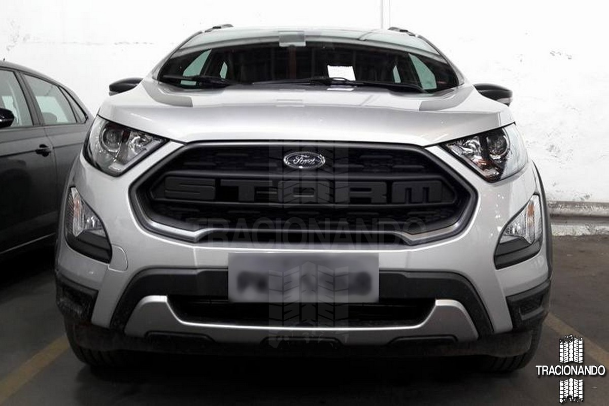 ford ecosport storm spotted in brazil unlikely to arrive in india. Black Bedroom Furniture Sets. Home Design Ideas