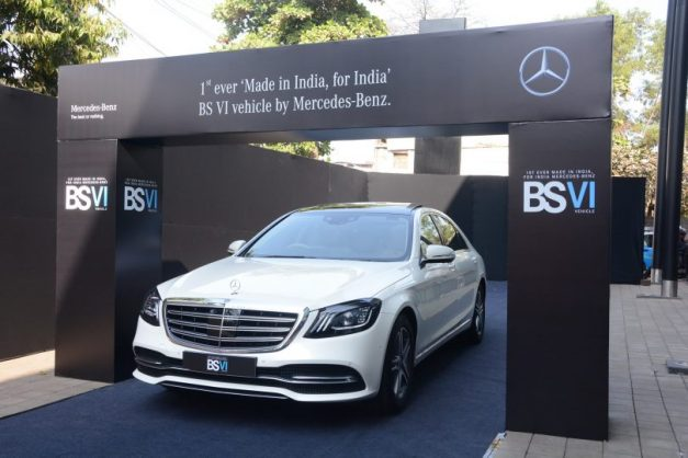 mercedes-benz-india-first-bs-vi-compliant-vehicle-s350d