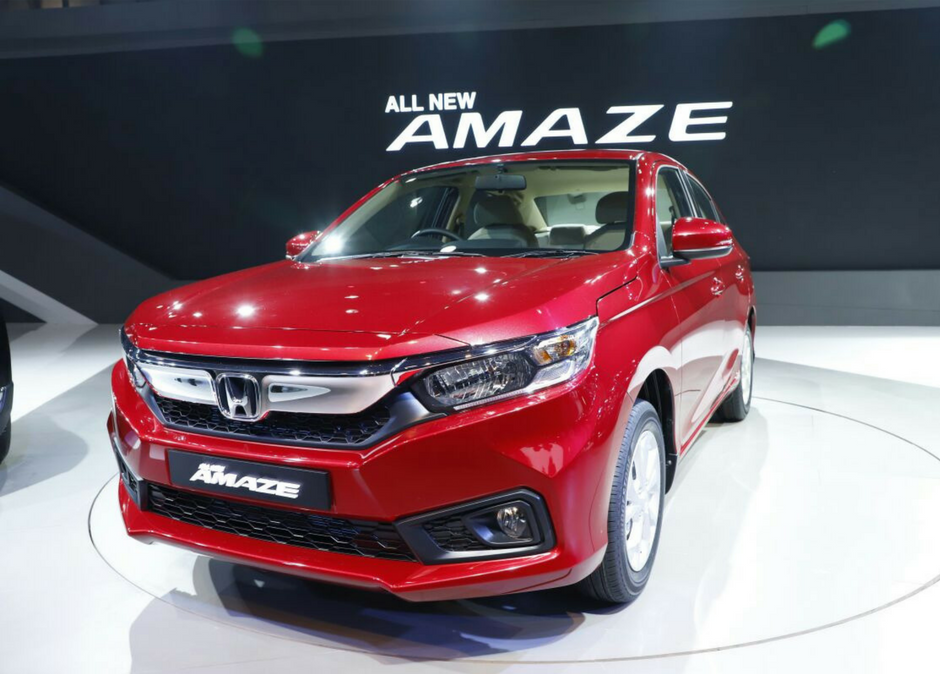 Honda Amaze All New CR V amp Civic First Indian Appearance