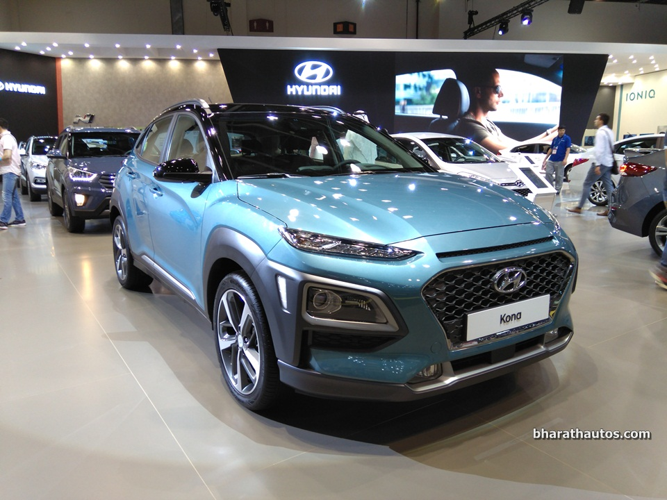 hyundai kona electric to arrive in india next year. Black Bedroom Furniture Sets. Home Design Ideas