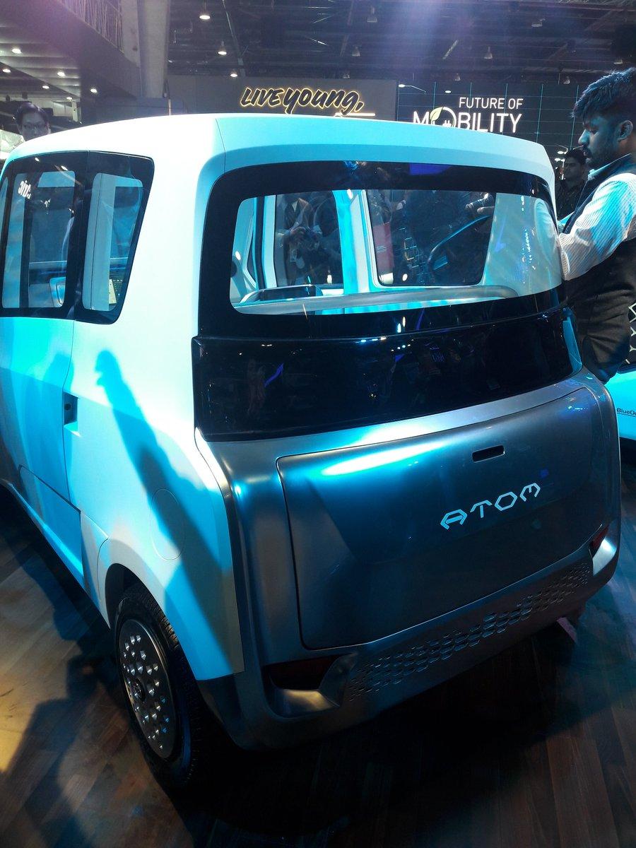 Mahindra Atom Electric Concept 2018 Auto Expo Exterior