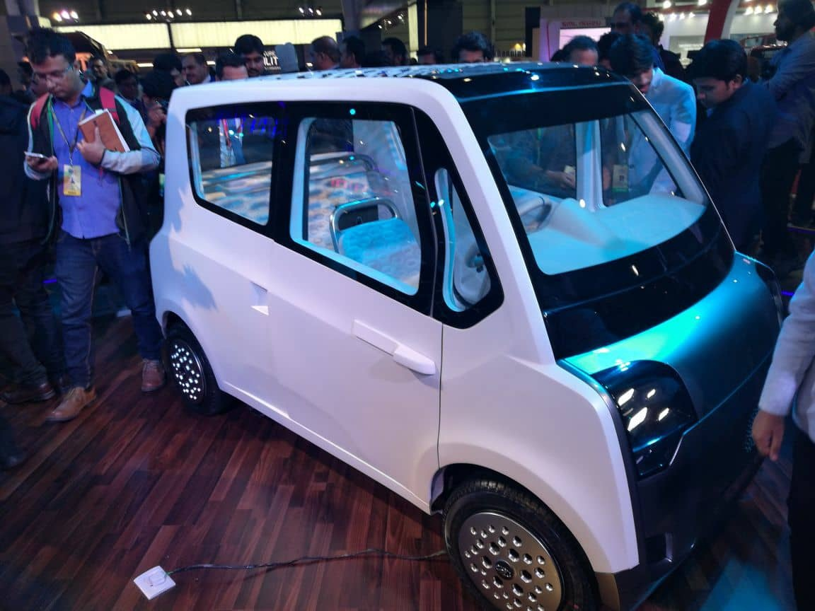Mahindra Unveils The Atom A New Age Urban Mobility Solution For Emerging India