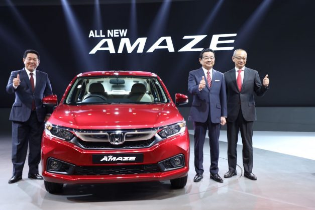 new-honda-amaze-crv-civic-first-indian-appearence-2018-auto-expo