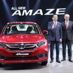 new-honda-amaze-crv-civic-first-indian-debut-2018-auto-expo