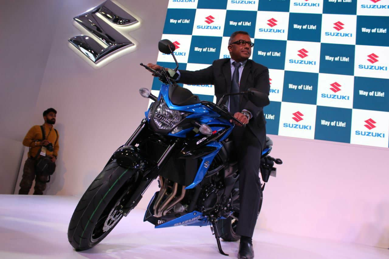 Suzuki Gsx S750 Second Made In India Product Unveiled At 2018 Auto Expo