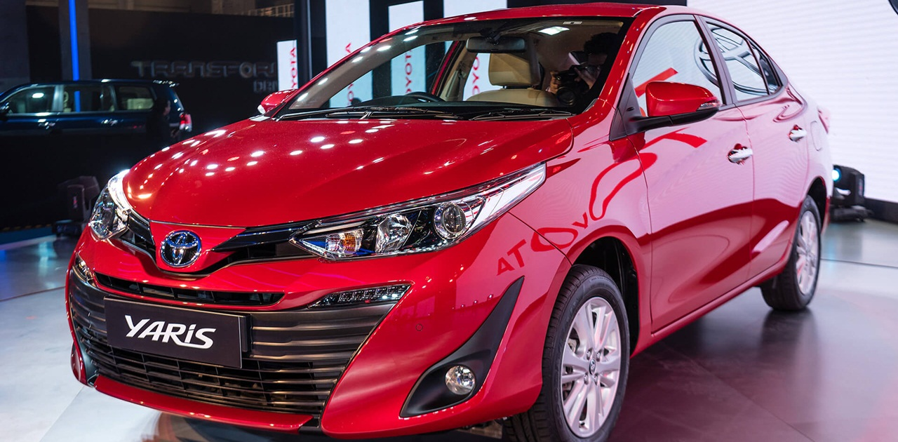 toyota yaris sedan revealed at 2018 auto expo launch april this year. Black Bedroom Furniture Sets. Home Design Ideas