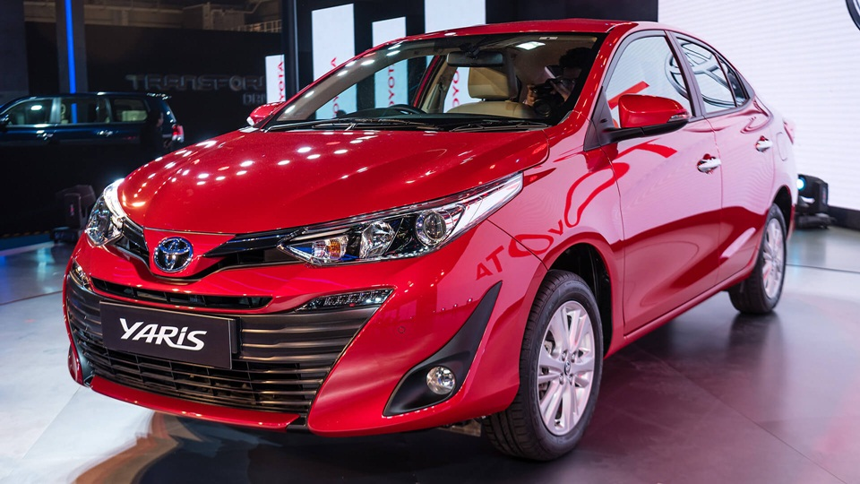 Toyota Yaris Sedan Revealed At 2018 Auto Expo Launch