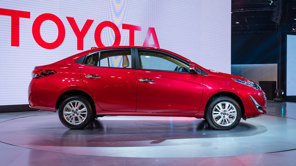 Toyota Yaris Sedan Revealed At 2018 Auto Expo Launch